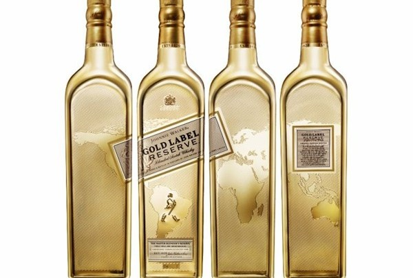The Johnnie Walker Gold Label Reserve Exclusive Travellers' Edition will be available for a limited time only from travel retail outlets worldwide.